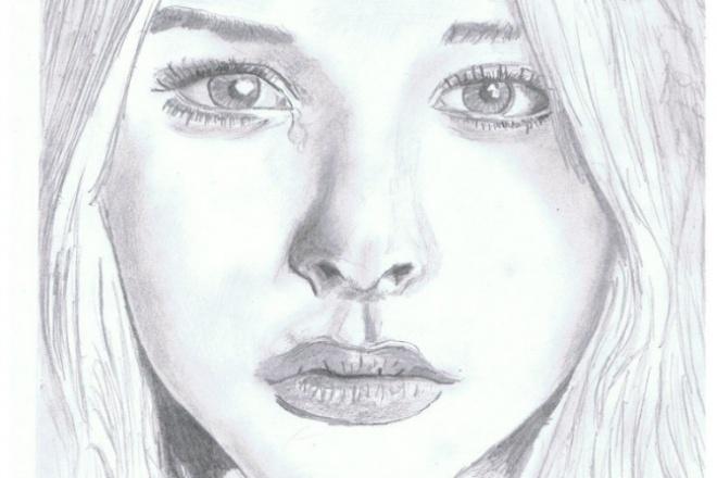 Напишу портрет в электронном виде 1 - kwork.ru