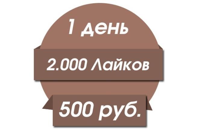 накручу 2.000 лайков в Instagram 1 - kwork.ru