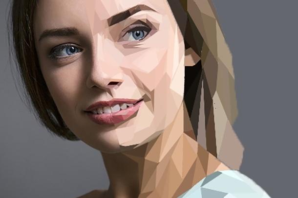 Нарисую портрет из треугольников - триангуляцияИллюстрации и рисунки<br>Доброго времени суток! Нарисую портрет в стиле триангуляция по вашему фото, работа любой сложности. В результате вы получите: Портрет в формате . jpg Портрет в формате . tif или . png - для печати на любом формате. Исходный файл AI либо PS по желанию.<br>