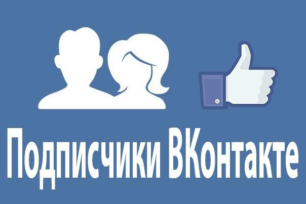 Участники в группу ВКонтакте 1 - kwork.ru