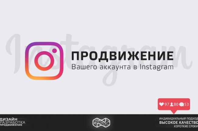 продвину Ваш аккаунт в Instagram по целевой аудитории 1 - kwork.ru