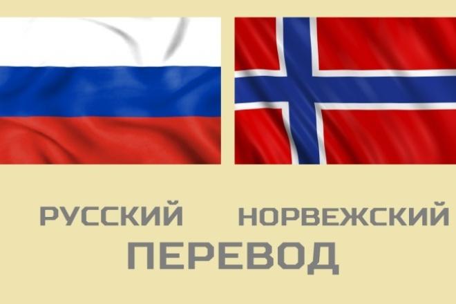 Норвежский перевод 1 - kwork.ru