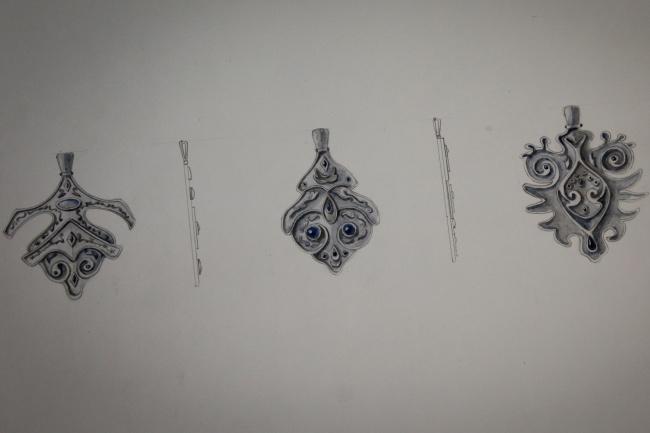 Сделаю дизайн одежды или ювелирных украшений  по любой теме 1 - kwork.ru