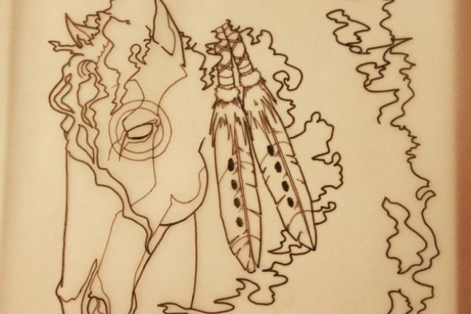 разработаю и отрисую индивидуальный эскиз татуировки 1 - kwork.ru