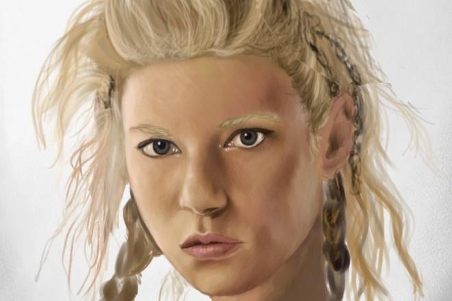 Нарисую ваш портрет CG 1 - kwork.ru