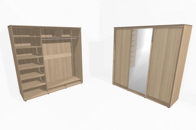 Создам любую 3D модель для программы PRO100Флеш и 3D-графика<br>Создам любую (по Вашим эскизам, чертежам ) 3D модель для программы PRO100. На картинках представлены мои работы.<br>