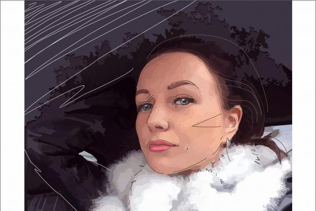 Рисунок по фото 1 - kwork.ru