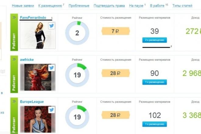 ссылки в твиттер 1 - kwork.ru