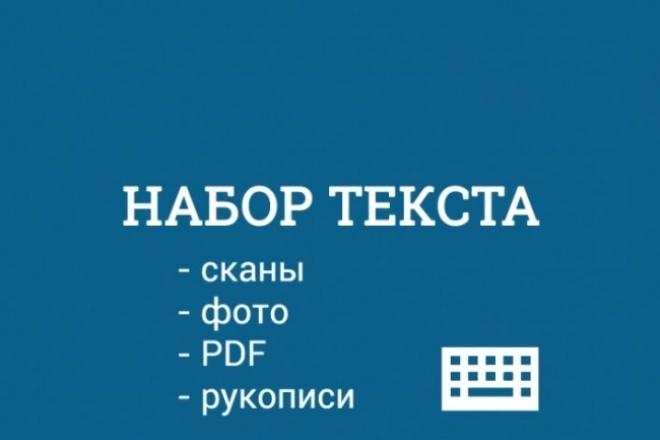 Набор текста 15000 символов 1 - kwork.ru