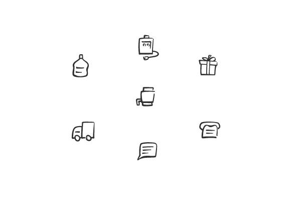 Сделаю плоскую одноцветную иконку 1 - kwork.ru
