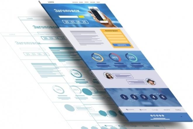 Создам лендингСайт под ключ<br>Готов создать для вас сайт яркий адаптивный лендинг Сделаю удобную админку, чистую верстку под все экраны, включая мобильные<br>