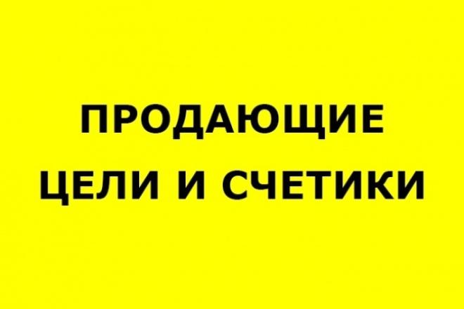 Настройка счетчиков и целей 1 - kwork.ru