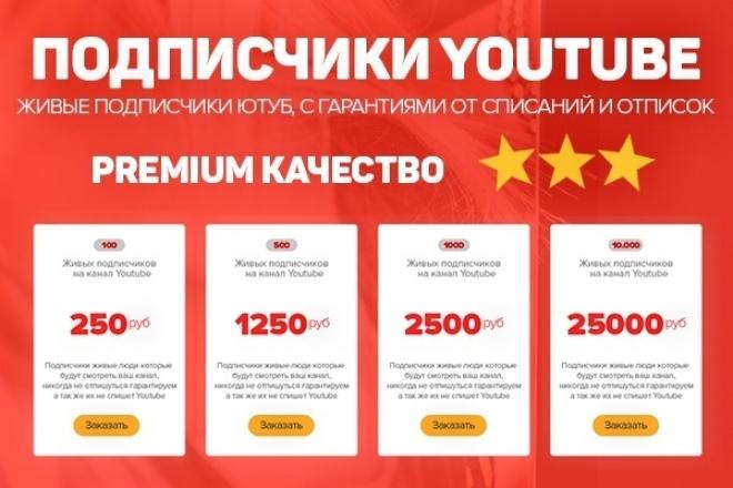 Сделаю 200 живых подписчиков YouTube! Гарантия от списания и отписок 1 - kwork.ru