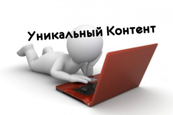 Напишу 4000 символов грамотного уникального текста 1 - kwork.ru