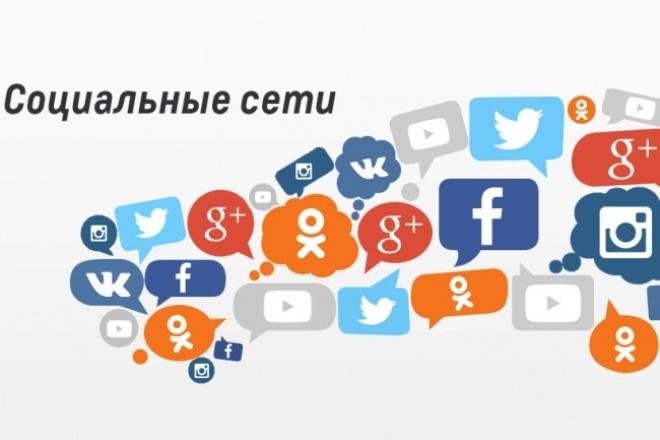 Продвину вас в социальных сетях 1 - kwork.ru