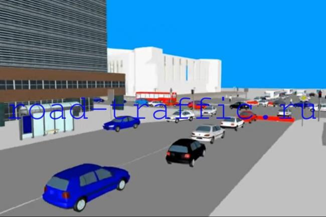 сделаю 3D моделирование дорожного движения 1 - kwork.ru
