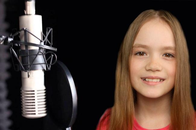 Запишу детский голос 1 - kwork.ru