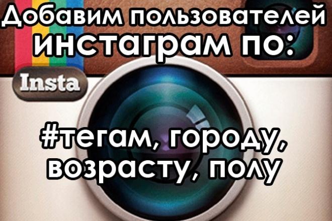 Добавим подписчиков из Вашего города 1 - kwork.ru