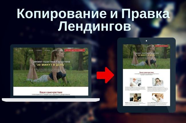 Сделаю копию одностраничника (Landing Page, подписная или продающая страница) 1 - kwork.ru