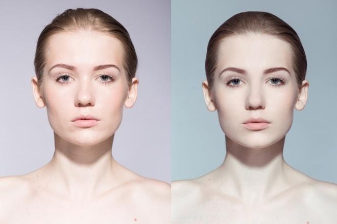 Обработка фото - цветокоррекция и ретушь лицаОбработка изображений<br>Обработка Ваших фото: 1. цветокоррекция 2. светокоррекция 3. ретушь лица (удаление прыщей, морщин и пр.). Сохраняю текстуру кожи - лицо будет выглядеть естественно, без мыла 4. пластика (по Вашему желанию)<br>