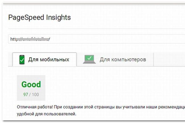 Ускоряю любые сайты 1 - kwork.ru