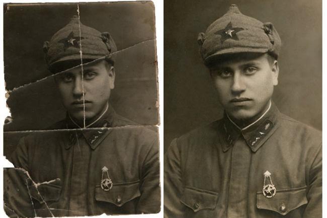 Реставрация и восстановление фото, придание цвета чб фотографиям 1 - kwork.ru