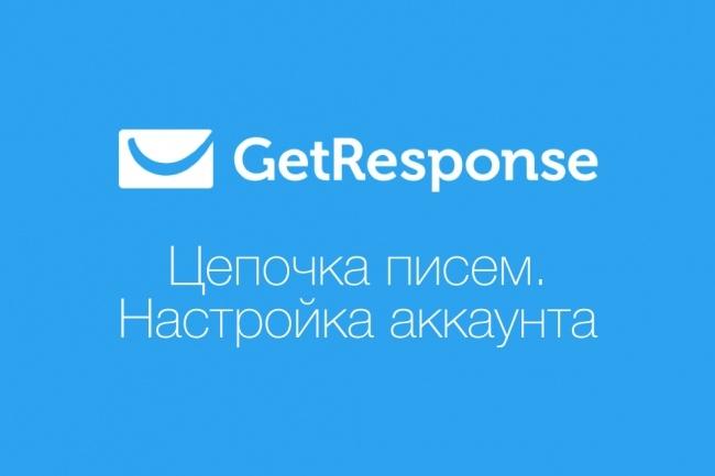 Цепочка писем email в GetResponse под ключ, аккаунт, автоответчик 1 - kwork.ru