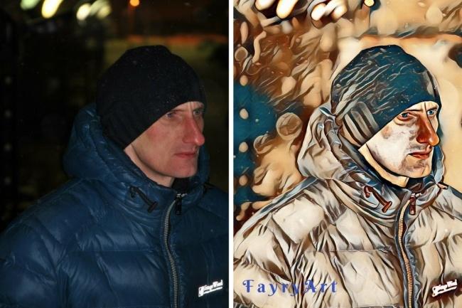 3 поп-арт портрета на выбор по Вашей фотографии 1 - kwork.ru