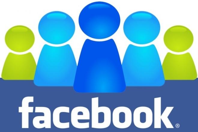 Добавлю 2500 русских и активных участников в вашу группу ФейсбукПродвижение в социальных сетях<br>Добавим 2500 человек в вашу группу на фейсбук (facebook). Только русские аккаунты с активностью и с аватарам. Никаких иностранцев, арабов, и т.д. без фото, заброшенные профили мы не добавляем. Добавление будет идти поэтапно, это лучшее решение для продвижения группы безопасно. Новые участники могут добровольно уйти из группы, но % таких участников не превышает 5% от общего количества вступивших. Добавляем немного больше, с учетом выхода незаинтересованных. внимание - добавляю людей только В группы фейсбук, а не на странички фейсбук.<br>