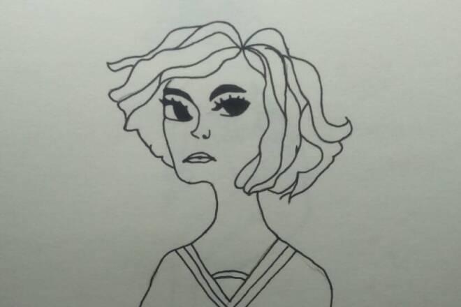 Напишу портрет в стиле мультфильма 1 - kwork.ru