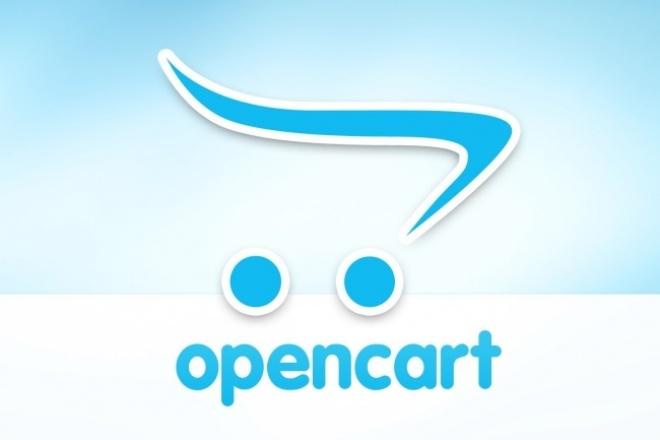 Установлю интернет магазин на Opencart 1 - kwork.ru