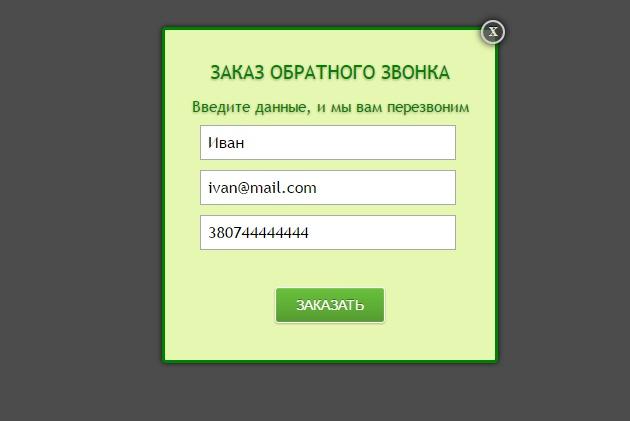 Настрою заказ обратного звонка на сайтеДоработка сайтов<br>Будут созданы и формы для ввода данных и скрипт отправки заказа товара с сайта или лендинга на почту. Количество получаемых данных по желанию заказчика до 10 позиций.<br>