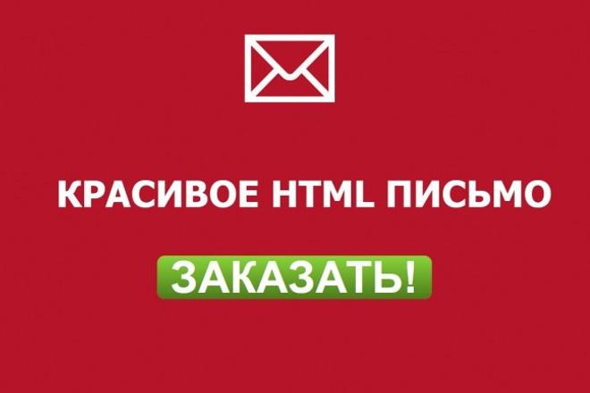 Создам HTML письмо 1 - kwork.ru