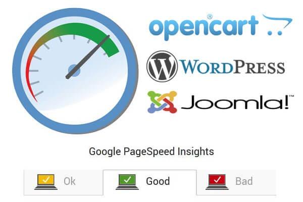 Ускорение загрузки, оптимизация сайта на Wordpress, Opencart, Joomla 1 - kwork.ru