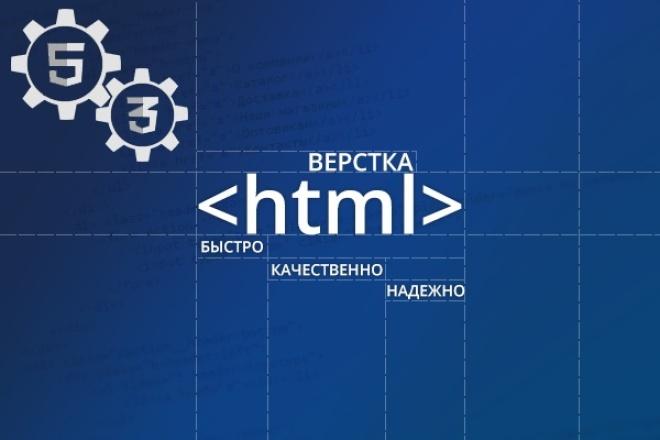 Верстка html + CSS 1 - kwork.ru