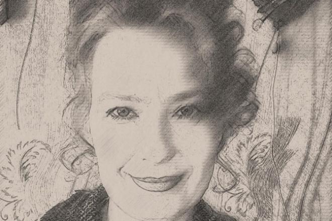 Сделаю обработку фото в стиле рисункаОбработка изображений<br>Сделаю очень красивую обработку пяти фотографий в стиле портрета карандашом! От карандашного рисунка не отличить!<br>