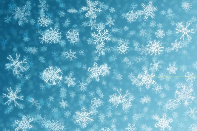 Падающие снежинки на сайт 1 - kwork.ru