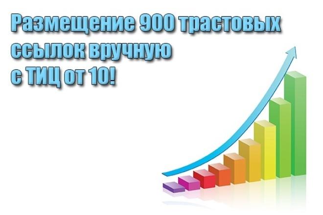 Размещу 900 трастовых ссылок 1 - kwork.ru