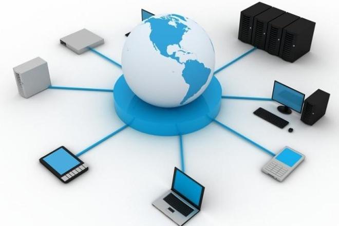 Настройка компьютерной сетиАдминистрирование и настройка<br>Настрою Вашу компьютерную сеть на базе Windows XP,7,8,10- интернет, общие папки, принтеры, nas-серверы, сетевые диски.<br>