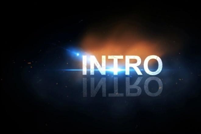 сделаю видеозаставку 1 - kwork.ru