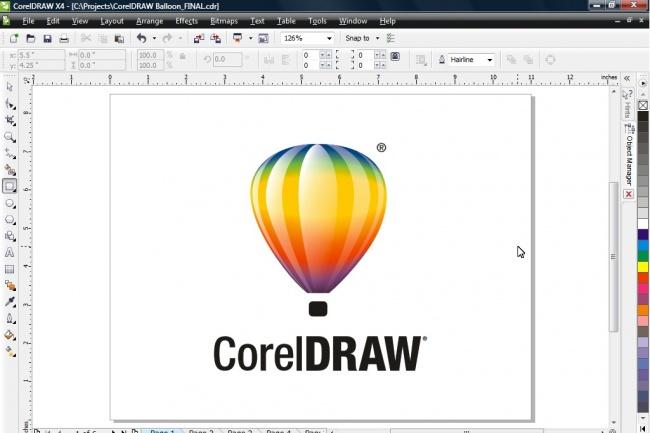 Работа в Corel DrawОтрисовка в векторе<br>Могу отрисовать в векторе и откорректировать любое изображение в программе Corel Draw по Вашему пожеланию.<br>