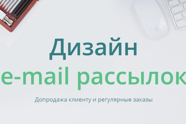 Адаптивные E-mail письма для Unisender, Mailchimp, GetResponseВеб-дизайн<br>Адаптивные e-mail письма будут влиять на рост продаж и увеличат кликабельность Вашей рассылки. Работаю с системами почтовых рассылок Unisender, Mailchimp, GetResponse и других. Информативные, креативные, аккуратные e-mail письма которые заинтересуют ваших подписчиков и не заставят их отменить рассылку. Все письма адаптированны для мобильных устройств, так как за 2017 более 50% писем открываются на мобильном.<br>