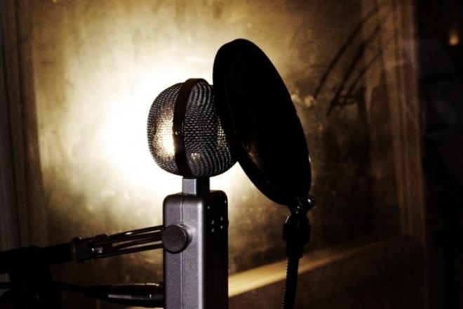 Озвучу аудиоролик, рекламу, аудиокнигу, фильм, персонажа из игры 1 - kwork.ru