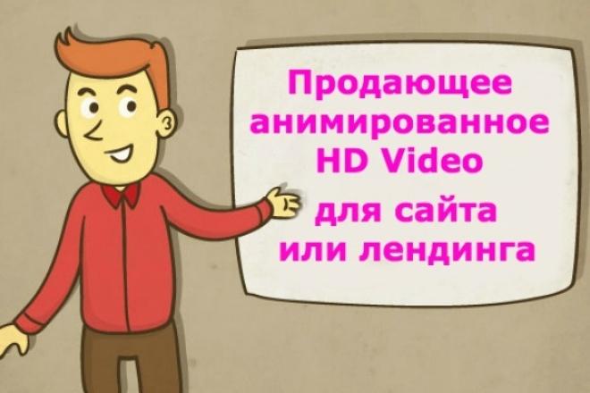 Сделаю продающее HD видео для сайта/лендинга 1 - kwork.ru