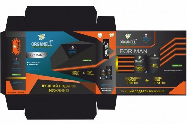 Создам качественный дизайн упаковки, этикетки 1 - kwork.ru
