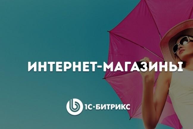 Готовый интернет-магазин под любой вид бизнеса на CMS 1С битрикс 1 - kwork.ru
