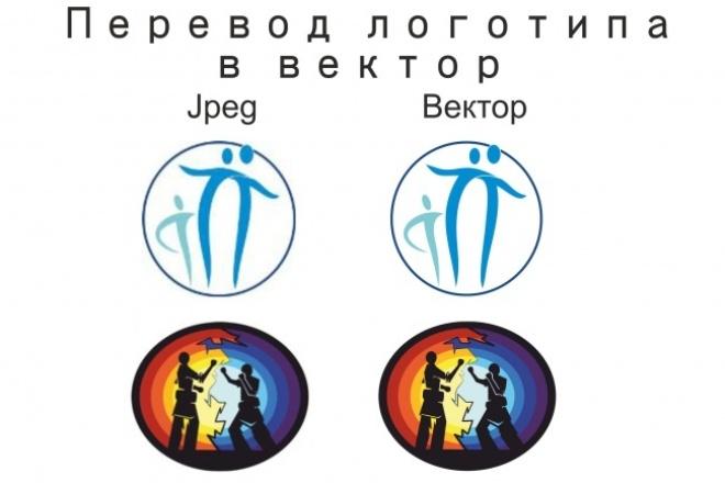 Отрисую логотип в векторе 1 - kwork.ru