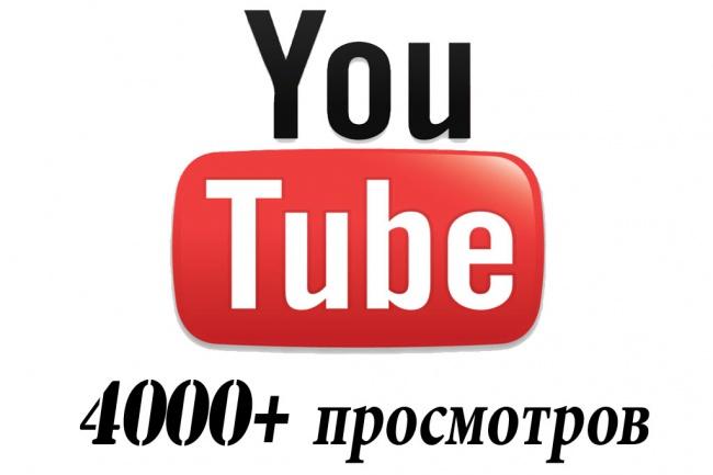 4000+ просмотров Вашего видео 1 - kwork.ru