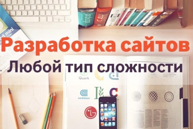 Создам адаптивный сайт-визитку или интернет-магазин 1 - kwork.ru