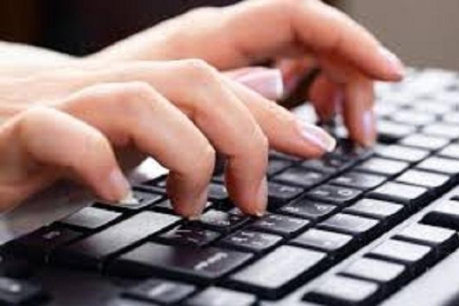 Наберу текстНабор текста<br>Наберу текст на русском языке со сканированных страниц (печатный или рукописный вариант). Работаю быстро и качественно. Грамотность гарантирую.<br>